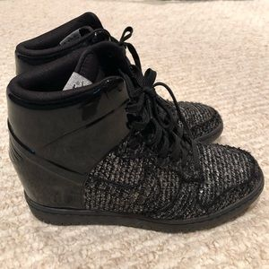 Nike SkyHi Dunk Wedge Sneaker